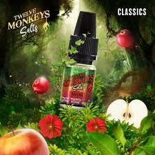 12 Monkeys 10ml Nic Salts