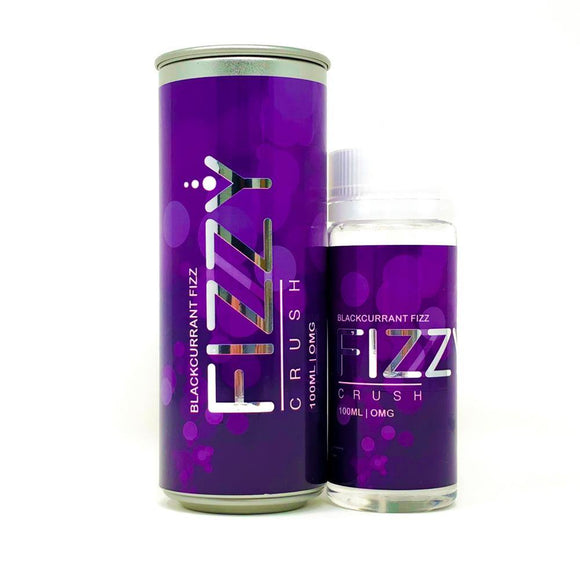 Fizzy Crush - Blackcurrant Fizz - 100ml