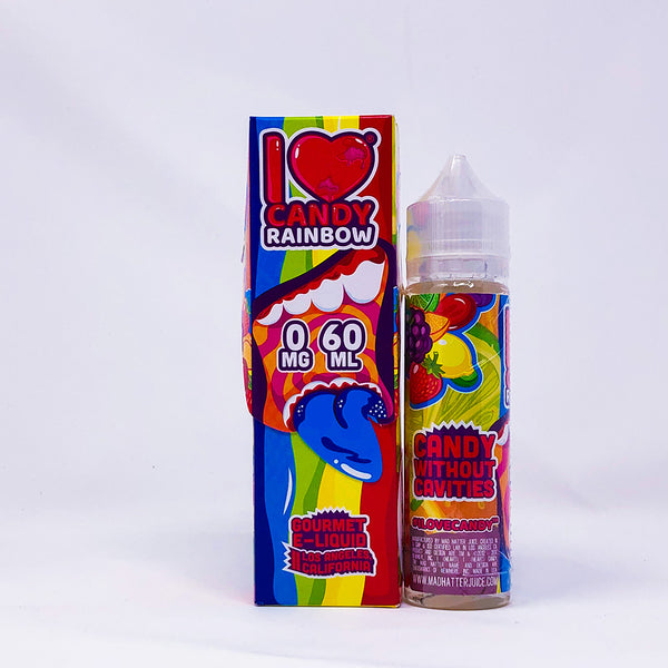 Mad Hatter Juice - I Love Candy - Rainbow 60ml E-Liquid