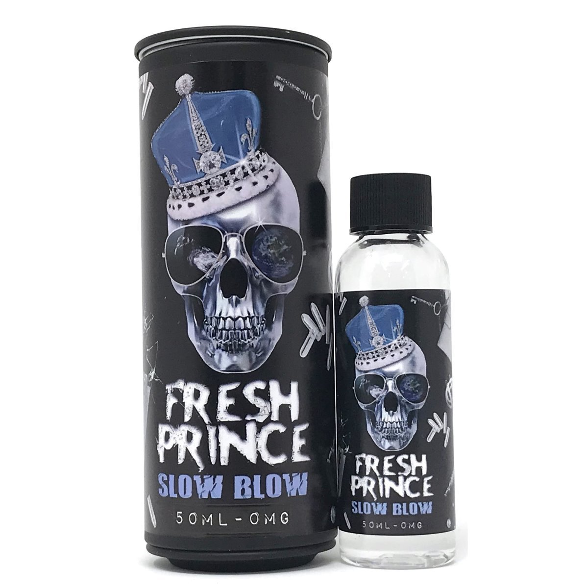 FRESH PRINCE - Slow Blow - 50ml E-Liquid-Vape Citi