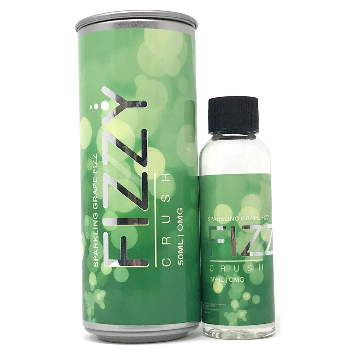 FIZZY CRUSH - SPARKLING GRAPE FIZZ- 50ml Shortfill E-Liquid-Vape Citi