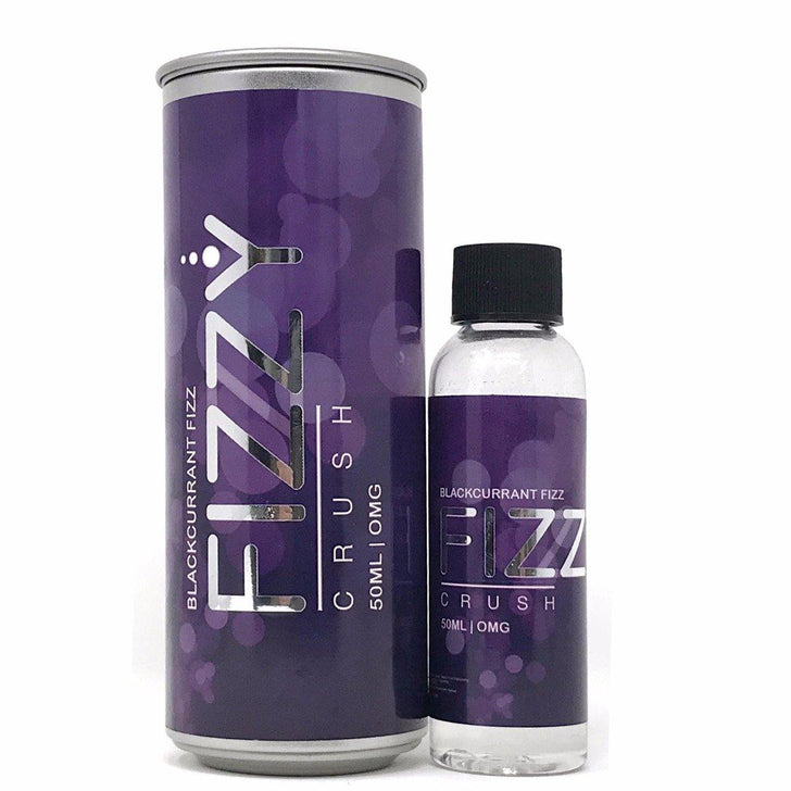 FIZZY CRUSH - Blackcurrant -  50ml Shortfill E-Liquid