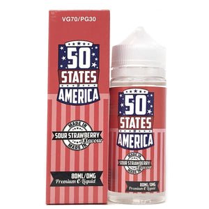 50 STATES - SOUR STRAWBERRY