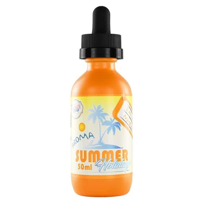 Dinner Lady Summer Holidays-Sun Tan Mango 50ml Shortfill E-Liquid-Vape Citi