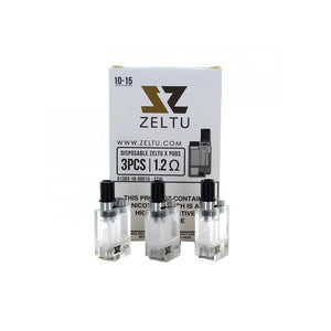 ZELTU X Pod Replacement (1.6ohm OR 1.2ohm)-Vape Citi