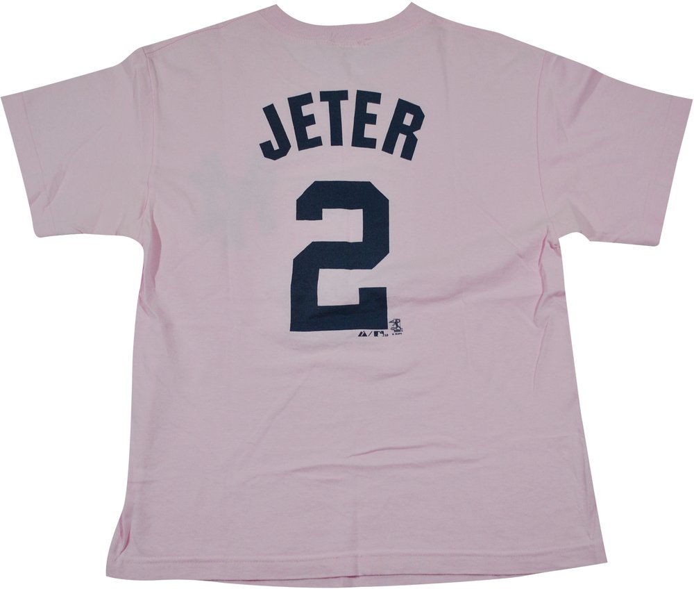 premium selection f14c8 906dd Vintage New York Yankees Derek Jeter Shirt Size Small