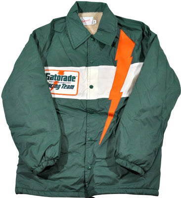 db136a8a2fac95 Vintage Gatorade Thirst Quencher Racing Team Jacket Size Small