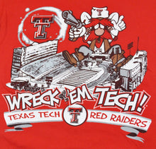 Vintage Texas Tech Red Raiders Shirt Size Small