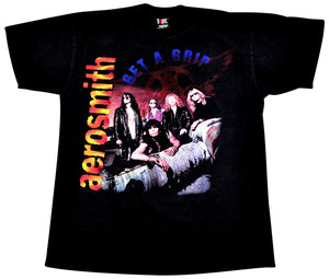 Vintage Aerosmith 1994 Get A Grip Tour Giant Tag Shirt Size X-Large