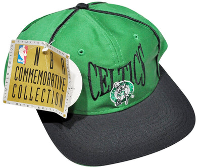 Vintage Boston Celtics Serial Numbered #1812/6000 Snapback