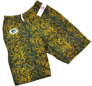 Vintage Green Bay Packers Zubaz Shorts Size Small