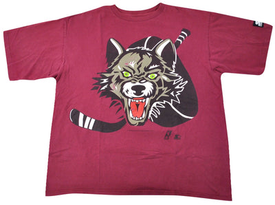 Vintage Chicago Wolves 1994 Starter Brand Shirt Size X-Large