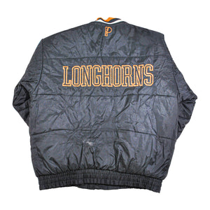 Vintage Texas Longhorns Reversible Pro Player Jacket Size Medium