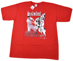 Vintage St. Louis Cardinals 1998 Mark McGwire Shirt Size X-Large