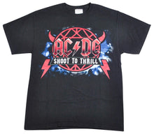 Vintage ACDC Shoot To Thrill Retro Shirt Size Small
