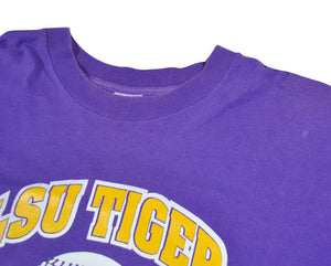 Vintage LSU Tigers 1995 Alumni Baseball Game Shirt Size X-Large