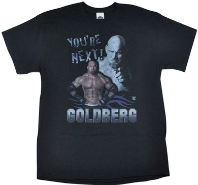 Vintage Goldberg You're Next! Wrestling Shirt Size Large