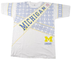 Vintage Michigan Wolverines Shirt Size X-Large