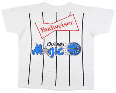 Vintage Orlando Magic Budweiser Shirt Size Large(wide)