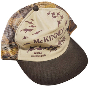 Vintage Ducks Unlimited McKinney 1984 Snapback