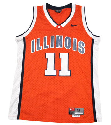 Vintage Illinois Fighting Illini Nike Jersey Size Small