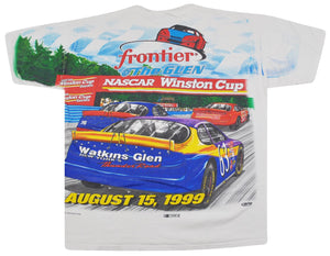 Vintage Winston Cup 1999 Frontier At The Glen Shirt Size Large