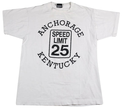 Vintage Anchorage Kentucky 25 Speed Limit Shirt Size Medium