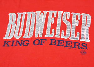 Vintage Budweiser King of Beers 1988 Shirt Size X-Large
