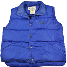 Vintage L.L. Bean Vest Size Youth Medium