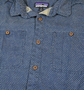 Vintage Patagonia Short Sleeve Button Shirt Size Small