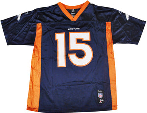 Vintage Denver Broncos Tim Tebow Jersey Size Youth X-Large