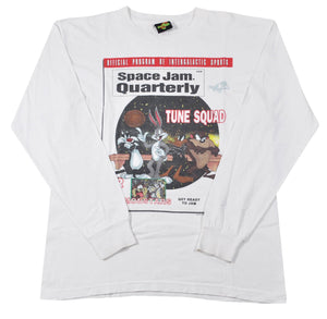 Vintage 1996 Space Jam Tune Squad Shirt Size Large