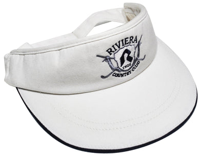 Vintage Riviera Country Club Visor