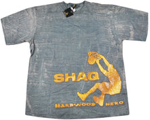 Vintage Shaq Hardwood Hero Shirt Size Large