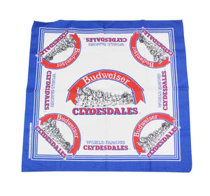 Vintage Budweiser Clydesdales 1995 Bandana