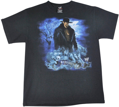 Vintage Undertaker Wrestling 2008 Shirt Size Small