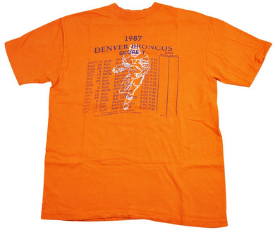 Vintage Denver Broncos 1987 Shirt Size Medium
