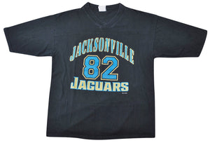 Vintage Jacksonville Jaguars Jimmy Smith Jersey Shirt Size X-Large