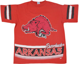 Vintage Arkansas Razorbacks Shirt Size Large