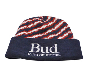 Vintage Bud King of Beers Beanie