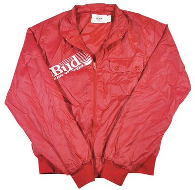 Vintage Budweiser Bud King of Beers Jacket Size Small