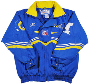 Vintage St. Louis Rams Logo Athletic Jacket Size Medium