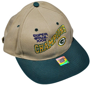 Vintage Green Bay Packers Strap Hat