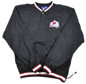 Vintage Colorado Avalanche Starter Brand Jacket Size Small