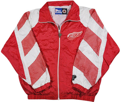 Vintage Detroit Red Wings Pro Player Jacket Size Medium
