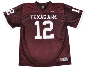 Vintage Texas A&M Aggies Nike Jersey Size Youth Large