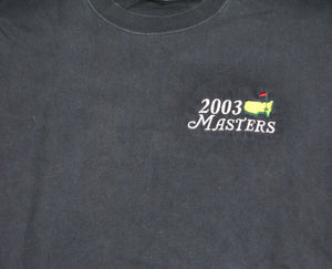 Vintage Masters 2003 Shirt Size Small