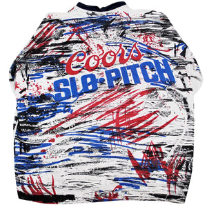 Vintage Coors Slo-Pitch Sweatshirt Size X-Large