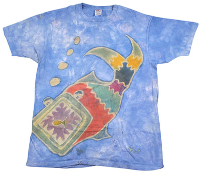 Vintage Fish Shirt Size Large