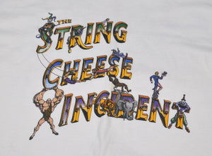 Vintage String Cheese Incident 2001 Tour Shirt Size X-Large